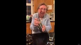 'Give it a shake, shake, shake': Grandma shares 'quarantini' recipe on TikTok and it's precious