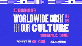 Famed jazz musicians perform in livestreamed 'Worldwide Concert for Our Culture' from Lincoln Center
