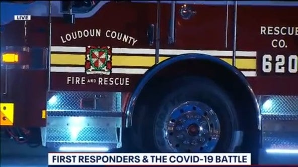 Loudoun County first responder tests positive for coronavirus