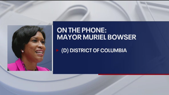 Mayor Bowser speaks with FOX 5 about DC's plan to flatten the curve during coronavirus outbreak