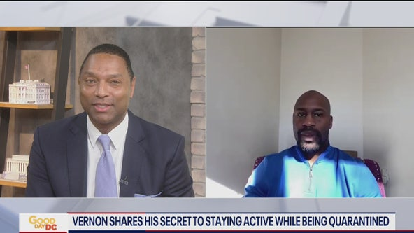 Vernon Davis shares tips on staying active while quarantined