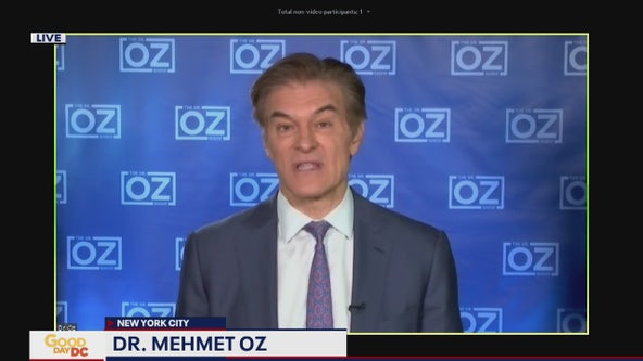 Dr. Oz discusses coronavirus drug study