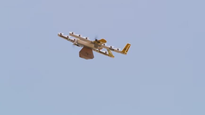 Business soaring for delivery drones during COVID-19 pandemic