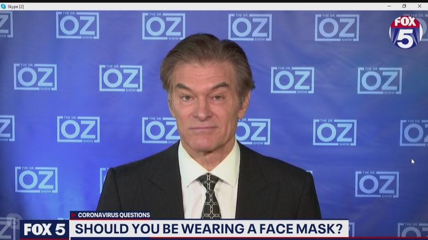 Dr. Oz weighs in: Should you wear face masks?