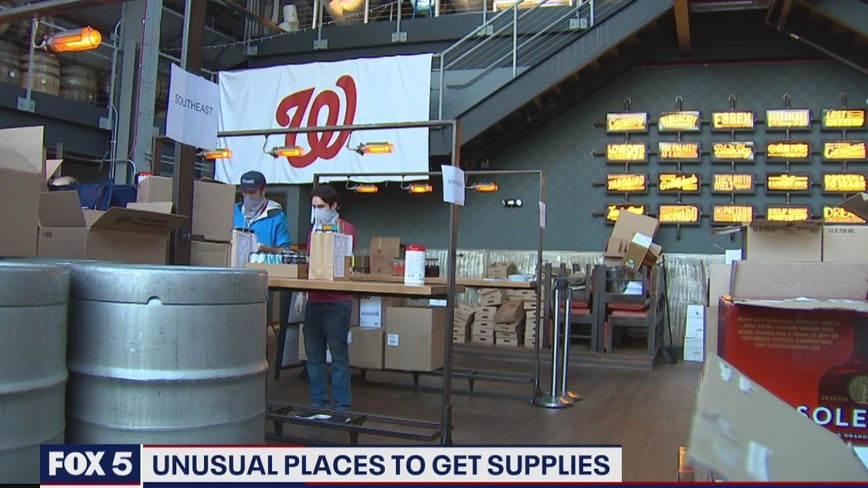 DC-area restaurants turn to groceries to offer more options, create more business