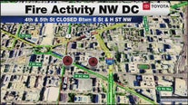 2 alarm fire damages WMATA headquarters in DC