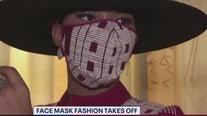 Face mask fashion takes off
