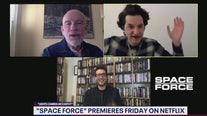 John Malkovich, Ben Schwartz talk Space Force
