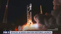 SpaceX and NASA aim for historic launch