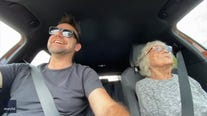 'Vroom, vroom!': Grandma with dementia fulfills her need for speed after months of isolation