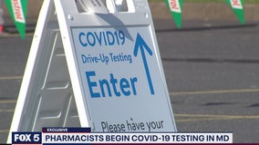 Pharmacists begin COVID-19 testing in Maryland