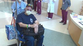 Virginia paramedic heads home after battle with COVID-19