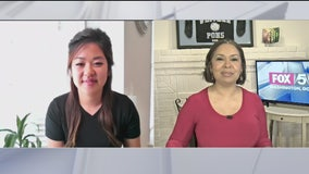 Fox 5 DC speaks to a local teacher during Teacher Appreciation Week