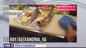 FOX 5 TAKEOUT: Pork Barrel BBQ, Holy Cow and The Sushi Bar continues to serve community amid pandemic