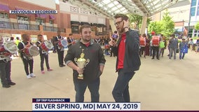 FOX 5 Zip Trip Flashback: Kevin has fun in Silver Spring
