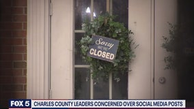 Charles County leaders concerned over social media posts