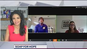 Fairfax teacher and students create Soap for Hope