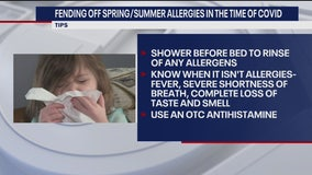 Fending off allergies in the time of COVID-19