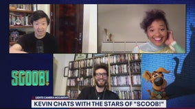 Kevin chats with the stars of SCOOB!