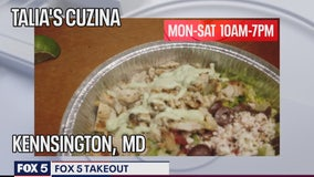 FOX 5 TAKEOUT: Talia's Cuzina continues to serve community amid pandemic