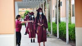 Graduation ceremonies draw thousands despite COVID-19 pandemic fears