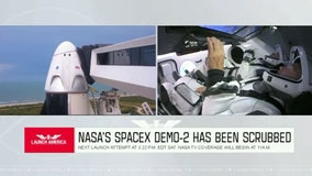 Historic SpaceX launch scrubbed due to weather