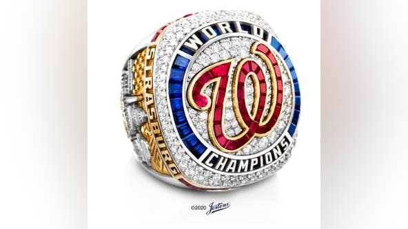 Washington Nationals World Series rings unveiled