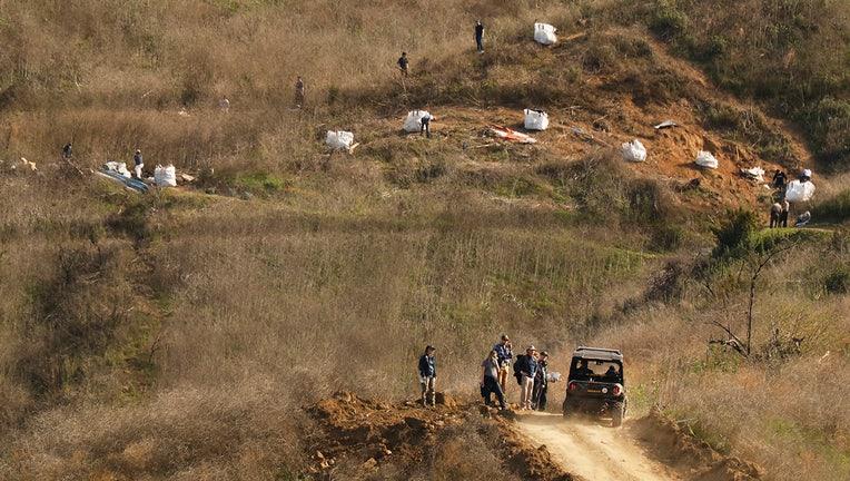 Kobe Bryant Calabasas Helicopter Crash Site