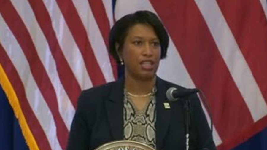 DC Mayor Muriel Bowser announces phase 1 reopening for Friday