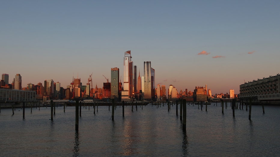 Earth Day Sunset in New York City