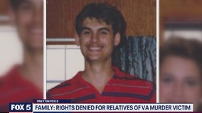 Family: Rights denied for relatives of Virginia murder victim