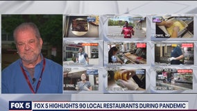 FOX 5 highlights 90 local restaurants during the pandemic