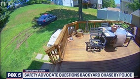 Prince George's County Police stand by pursuit authorization: Backyard chase caught on camera