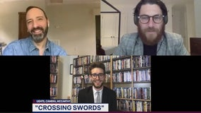 Tony Hale, Adam Pally talk Crossing Swords