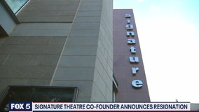Signature Theatre co-founder resigns amid accusations