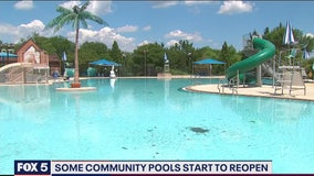 Most private community pools to remain closed during COVID-19, while others ask residents to sign waivers