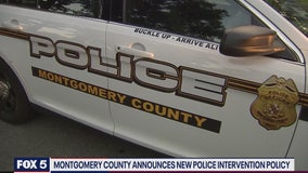 Montgomery County Police Department implements new police intervention policy