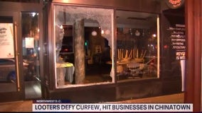Protesters defy curfew in DC; widespread looting, damage reported overnight in Chinatown