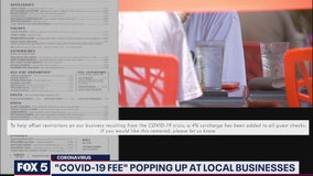 Montgomery County businesses charging COVID-19 fees