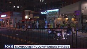 Montgomery County phase 2 reopening underway