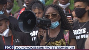 Young voices lead protests nationwide in response to death of George Floyd in police hands