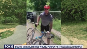 Massive misinformation about identity of suspect in Bethesda trail assault spreads online