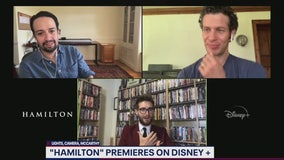 Lin-Manuel Miranda talks Hamilton on Disney Plus