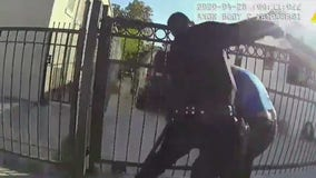 LAPD officer charged with illegally punching unarmed man more than 12 times during on-duty assault