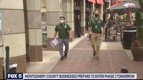 Montgomery County inspects businesses ahead of phase 2 reopening
