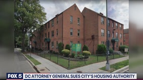 DC attorney general sues city's housing authority
