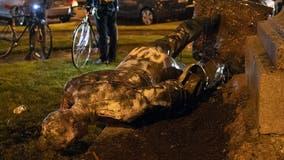 Third Confederate statue torn down in Richmond
