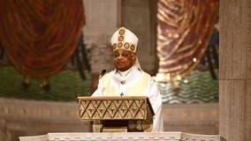 'Baffling and reprehensible': Archbishop of Washington condemns Trump's visit to Catholic shrine