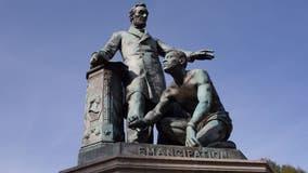 Frederick Douglass' descendant says Emancipation Memorial should stand