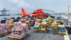 Over $400-million worth of cocaine, marijuana seized by U.S. Coast Guard